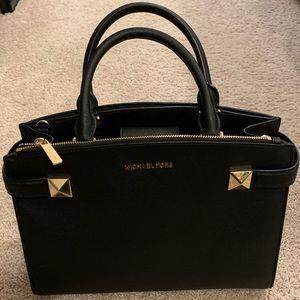 Black Michael Kors satchel